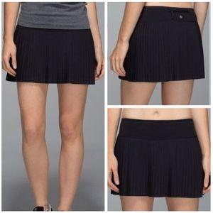 lululemon athletica Skirts - NWT Lululemon Pleat to Street Skirt Solid Black